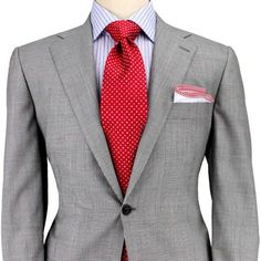 Grey Glen Plaid with Red Windowpane Suit G.Q Style Sharp Dressed Man, Well Dressed Men, Mens Attire, Mens Suits, Windowpane Suit, Suit Fashion, Mens Fashion, Light Grey Suits, Gray Suits