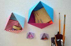 DIY - Les rangements en origami | Blog Rennes : LHDLM