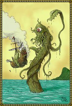 1000 images about ships sea monsters on pinterest sea for Monster advanced search