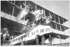 The Caproni Ca.60 Transaereo Noviplano, Italy 1925 Often referred to as the…