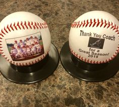 Customized baseballs are perfect gifts whether you're wrapping up the summer ball season or beginning the fall baseball season. Baseball Gifts, Baseball Season, Sports Gifts, Baseball Mom, Team Mom, Coach Gifts, Wrapping, Personalized Gifts, Great Gifts