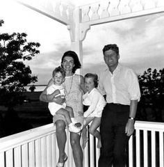 The Kennedy's- at Martha's Vineyard as well