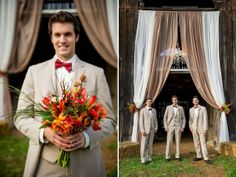 farm country wedding, red, apples, florals by enchanted florist in nashville, ace photography, drake wood farm, #nashville #wedding, #fall, #candyapples, food by @Chef's Market of nashville