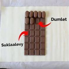 Hän käärii suklaalevyn voitaikinaan ja asettaa sen uuniin: Tässä on herkku, joka vie kielen mennessään! Sweet Life, Cooking Tips, Sweet Tooth, Food Porn, Food And Drink, Sweets, Candy, Chocolate, Desserts
