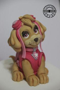 Image result for paw patrol fondant figurines