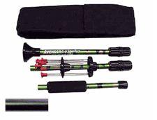 """Blowgun 24"""" Backpacker 3 piece .40 caliber also 36 inch"""