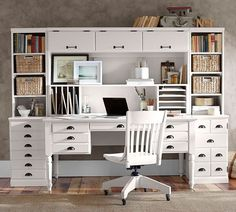 all home office furniture pottery barn