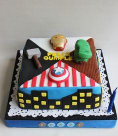 Advenger Cake by Violeta Glace