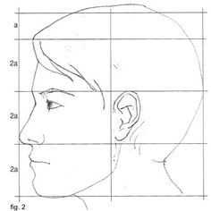 Tutorial come disegnare un volto o una testa vista di 3 4 for Disegnare progetti
