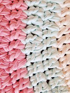 DIY alfombra de trapillo para bebé