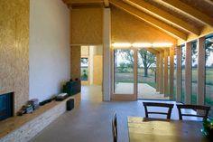 realizzazione in autocostruzione di casa indipendente nella campagna ferrarese  Antonio Ravalli