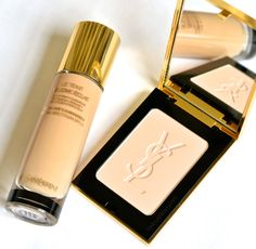 Yves Saint Laurent Le Teint Touche Eclate Illuminating Foundation, it is super lightweight and makes skin look amazing.  Perfect for this summer!