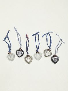 Free People Pico Heart Baubles, €21.08
