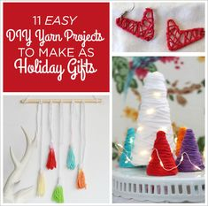 11 Easy DIY Yarn Projects To Make As Holiday Gifts
