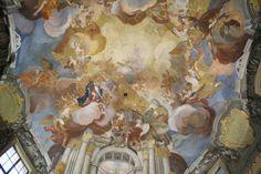 Jan Kryštof Handke - detail  kaple božího těla, Olomouc - 1727-8