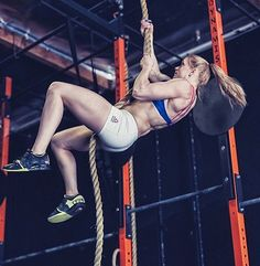 Annie Thorisdottir - One day I will be able to do legless rope climbs