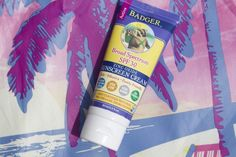 Organic #Badger sunscreen - my absolute favorite for summer