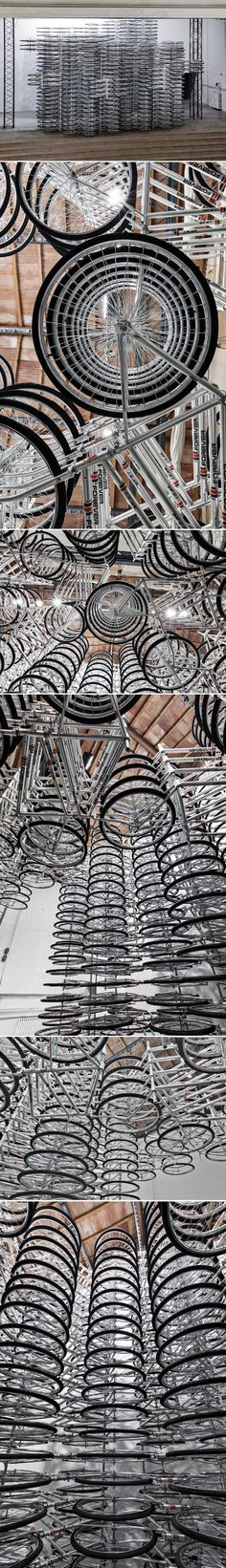 Installation Stacked Ai Weiwei