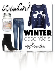 """Sweater Weather"" by mysticfashion ❤ liked on Polyvore featuring Yankee Candle and Gianvito Rossi"