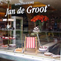Bakery Jan de Groot in Den Bosch / 's-Hertogenbosch (The Netherlands) famous for Bossche Bollen