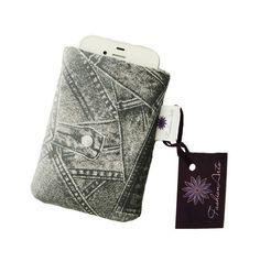 Capinha para celular ou ipod, acolchoada, para deixar seu aparelho livre de sujeira e protegido!