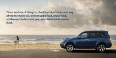 Before starting your car always check for air in your tires. Always keep car's tires properly inflated and aligned. Underinflated tires cause fuel consumption to increase by six percent   and also effect car's suspension adversely. Engine oil should be changed or replenished, and all vehicle fluids and lubricants should be checked. #all #weather #tyre
