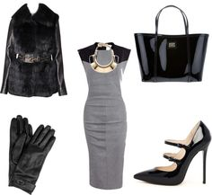 """""""Black"""" by mbaileydesigns on Polyvore"""