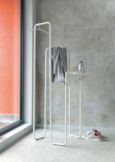 Metal coat rack SPIN by Schönbuch | #design Studio Taschide #minimal #interiors