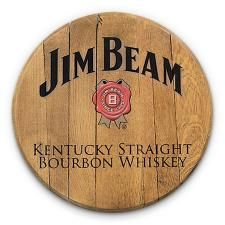 Bourbon Barrel Head -- Jim Beam Add your name, a wedding date, or anything else you want!