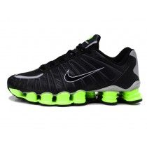 new concept 6add5 9a216 Nike Shox TLX Black Electric Green Silver Shoes are cheap sale online. Shop  the classic nike shox tlx shoes now!