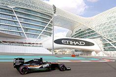 Hello Abu Dhabi, we know you've been waiting for us ❤ Esteban Gutierrez, Abu Dhabi Grand Prix, Force India, One Team, World Championship, Formula One, First World, Racing, F1