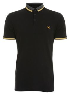 Black Plain Polo