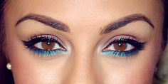 You could do this with the NEW Mary Kay Gel Eyeliner! Lovely.