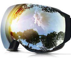 8. ZIONOR X6 Ski Snowboard Goggles