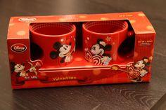 Mickey & Minnie Valentine's Day Mug Set