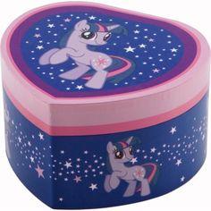 Boîte à bijoux cœur My Little Pony Twilight Sparkle - Trousselier - 20 €