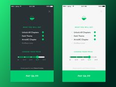 Javvy iOS Purchase Screen by Lorenz Schimik