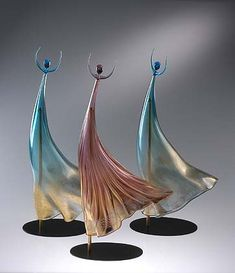 "*Art Glass- ""Danseuse, Star Dancer"" by Norberto Moretti"