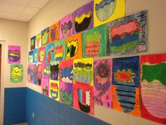 MNPS Chihuly Art Lessons: Park Avenue Elementary Goes CHIHULY K-5!