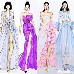 "330 Likes, 1 Comments - Gidget Bowden (@gjb215) on Instagram: ""#Repost @dimple_asha_illustration with @repostapp @lanvinofficial #fashionillustration #fashion…"""