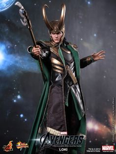 Loki Hot Toys Figure is full of mischief | Live for Films. // The Avengers.