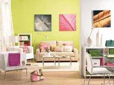 30 fotos e ideas para pintar y decorar la sala o salita de estar.   Mil Ideas de Decoración