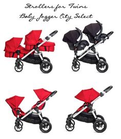 """Babies""""R""""Us is home to an extensive inventory of baby strollers that keep baby comfortable and secure as you move through the day together. Allowing you to travel in style, today's baby carriages provide a smooth ride, easy storage, and appealing designs, making them a pleasure to own and use. Best Twin Strollers, Double Strollers, Baby Strollers, Toddler Stroller, Jogging Stroller, Double Stroller For Twins, Best Double Stroller, Twin Girls, Twin Babies"""