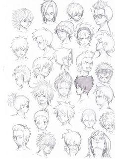 Die 69 Besten Bilder Von Manga Frisuren Manga Drawing Manga
