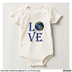 Love the world our planet baby creeper