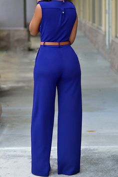 m.lovelywholesale.com wholesale-fashion+v+neck+sleeveless+solid+blue+nylon+one-piece+regular+jumpsuit+with+belt-g143491.html