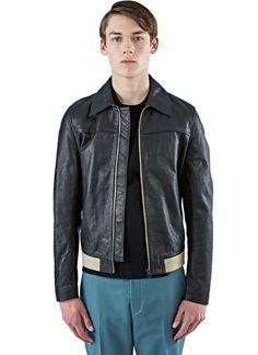 Acne Studios Alisdair Hip Leatehr Jacket | LN-CC