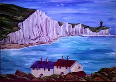 Fresh and Alive. Inspired on the beautiful white cliffs of Dover, England.