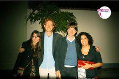 Fotos con la fans que ganaron una cena con KOC en RAFAEL