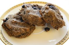 For the Love of Food!: Blueberry Walnut Breakfast Cookies (Gluten/Grain Free, Soy Free, Egg Free, Dairy Free, Sugar Free)